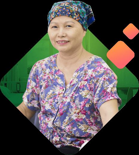 Cô Bùi Thị Hạnh