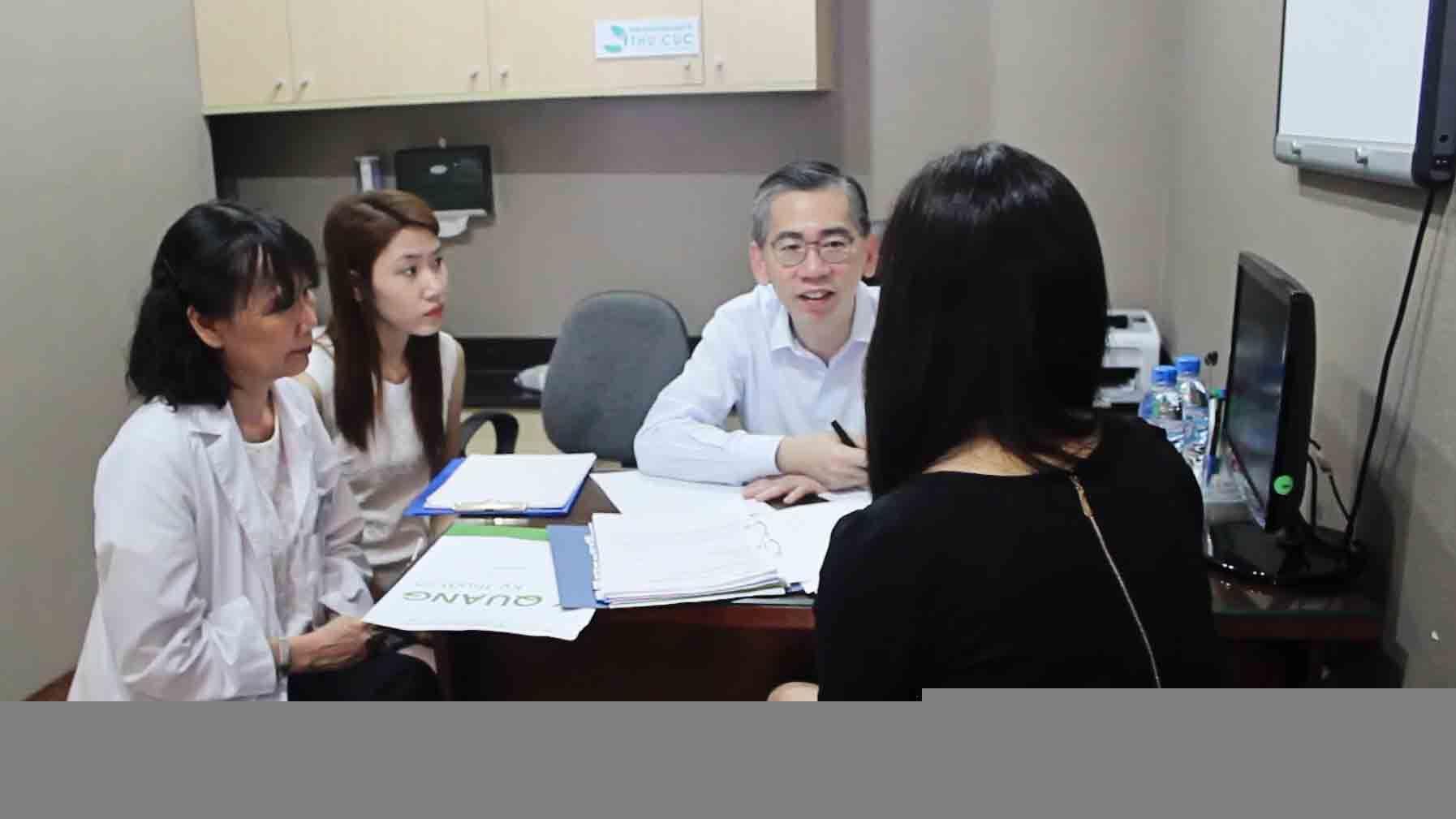 Bác sĩ sẽ trao đổi với bệnh nhân phương pháp hóa trị cho phù hợp