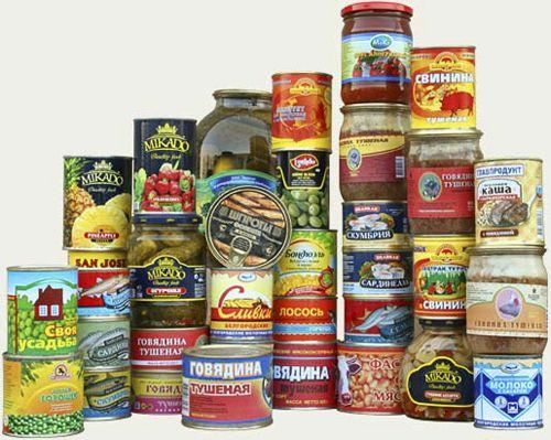 Sử dụng nhiều đồ ăn đóng hộp có thể dẫn tới nhiều bệnh ung thư.