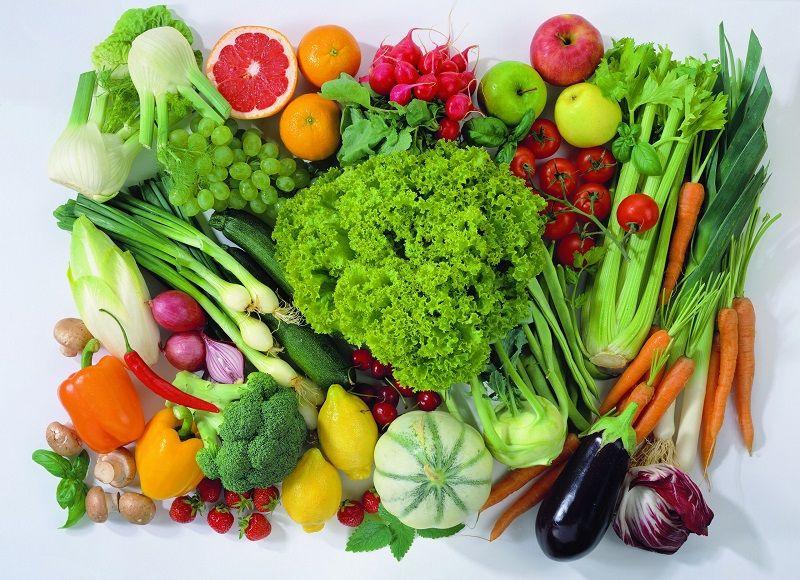 Ăn nhiều rau quả tốt cho hệ tiêu hóa và giúp bệnh nhân ung thư dạ dày tăng cường sức khỏe.
