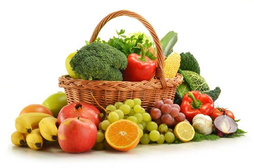 Chế độ ăn uống hợp lý nhiều rau quả tươi rất tốt ngừa ung thư đại trực tràng.
