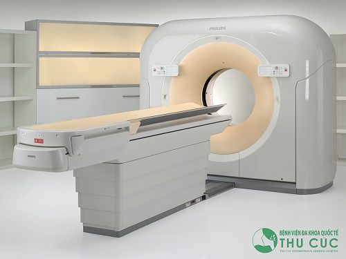 Philips uCT Scanner at Philips in Highland Heights.