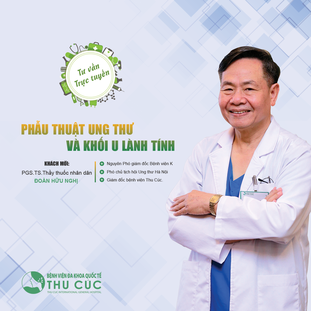 TVTT: Phẫu thuật khối u lành tính và ác tính