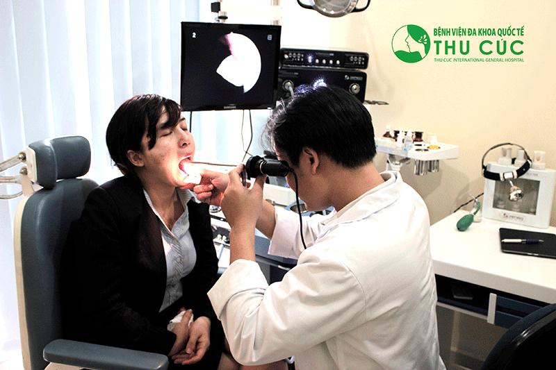 Nội soi vòm họng tầm soát ung thư 2