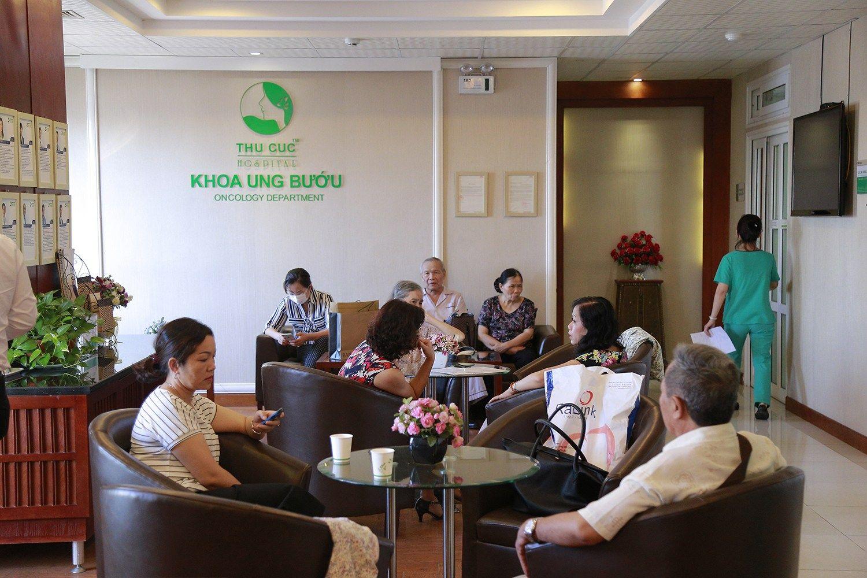 Khoa Ung bướu - Singapore, Bệnh viện Thu Cúc
