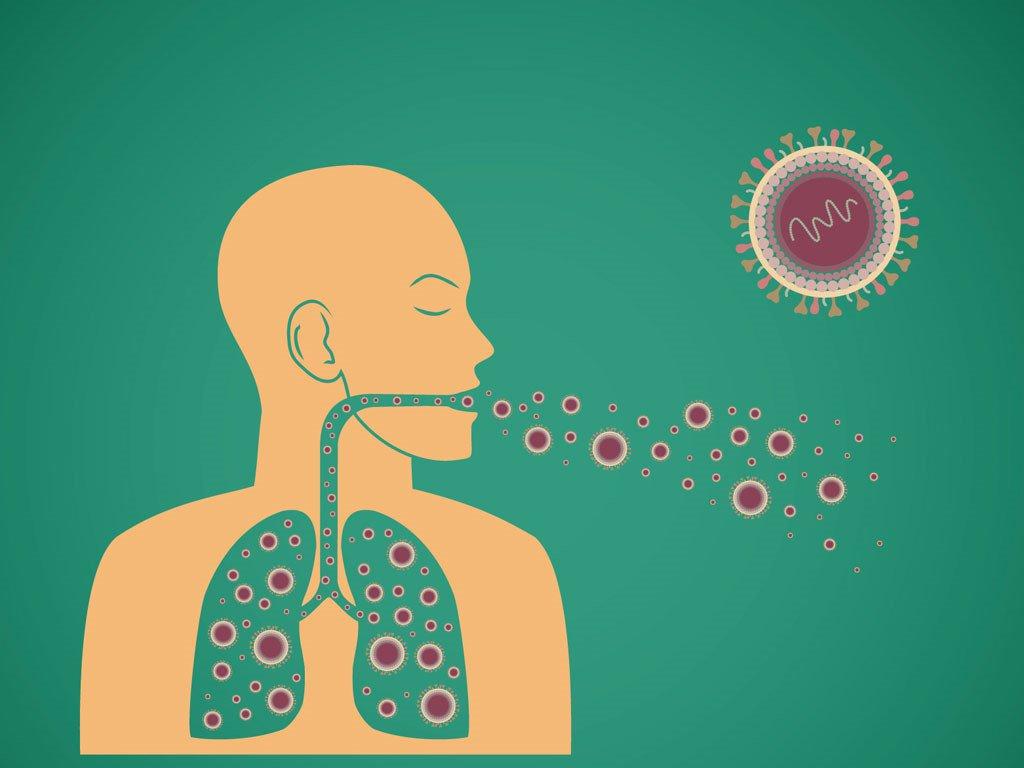 Bệnh nhân lao phổi có thể khạc ra máu vào buổi sáng