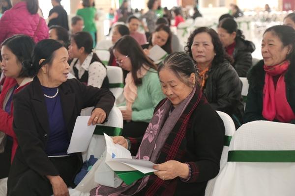 Chương trình có sự tham gia của đông đảo người dân Bắc Ninh, đặc biệt những người lớn tuổi.