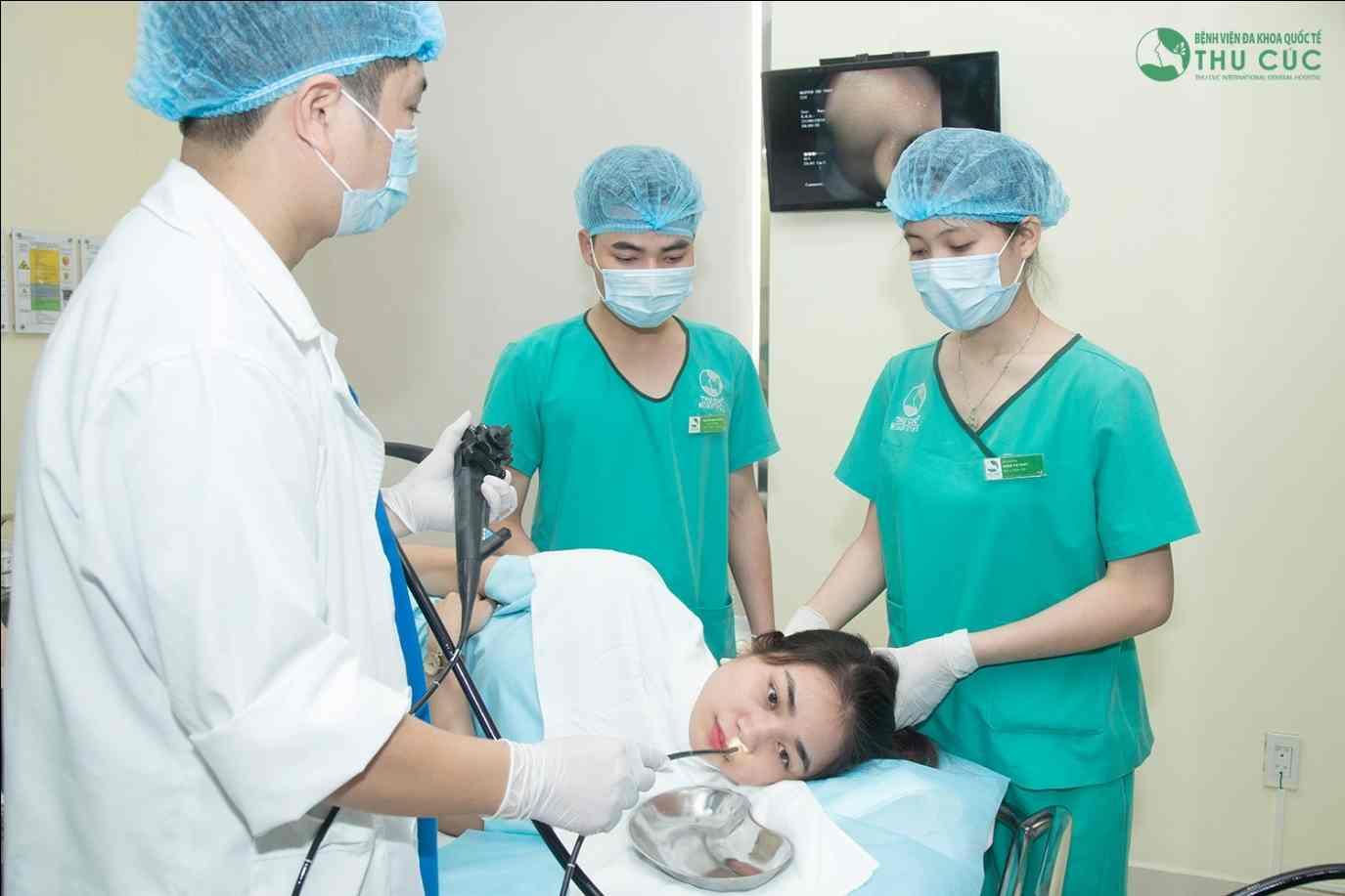 Dịch vụ nội soi không đau được nhiều người bệnh của Thu Cúc tin tưởng và sử dụng