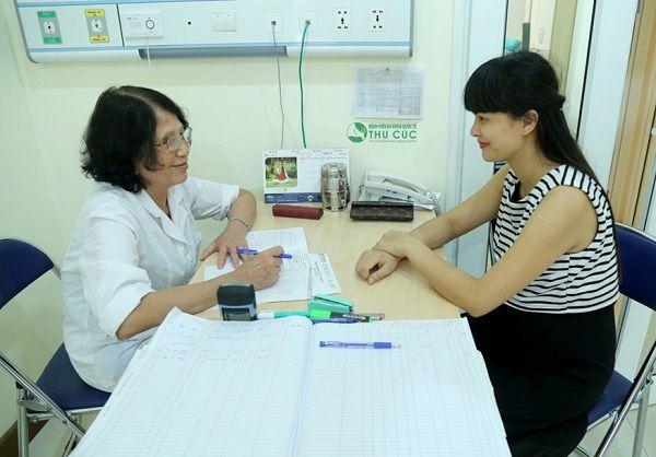 Người bệnh cần đi khám để được chẩn đoán chính xác bệnh và có biện pháp điều trị phù hợp