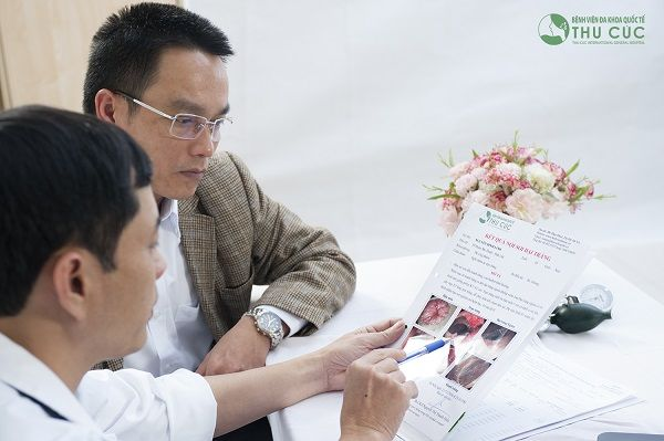 Người bệnh cần đi khám để được chẩn đoán chính xác tình trạng sức khỏe