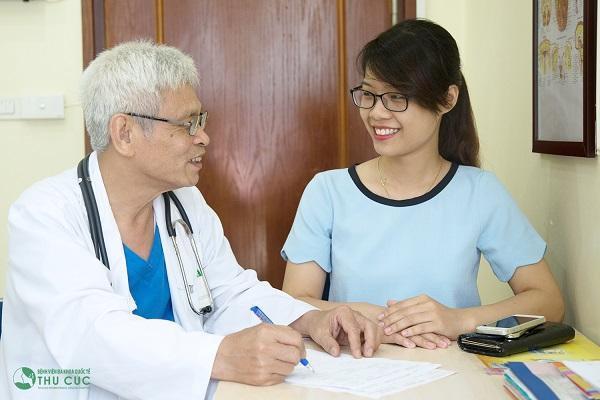 Bệnh viện Thu Cúc có bác sĩ giỏi sẽ trực tiếp tư vấn và điều trị bệnh cho khách hàng