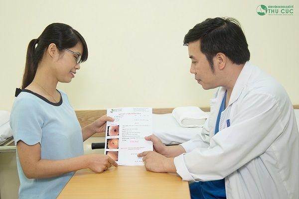 Sau nội soi đại tràng, người bệnh sẽ được bác sĩ giỏi trực tiếp tư vấn điều trị hiệu quả bệnh