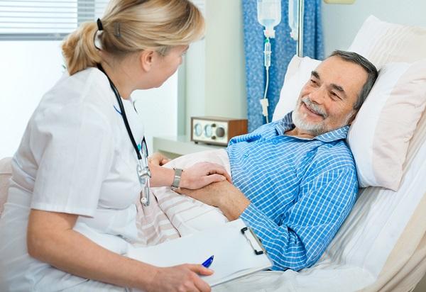 Người bệnh cần nghỉ ngơi, ăn uống đúng cách giúp hồi phục sớm tình trạng sức khỏe