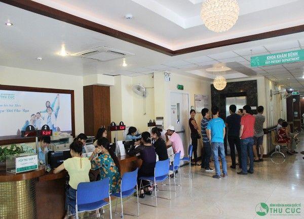 Bệnh viện Thu Cúc là một trong những địa chỉ tin cậy được nhiều khách hàng tin tưởng tìm đến