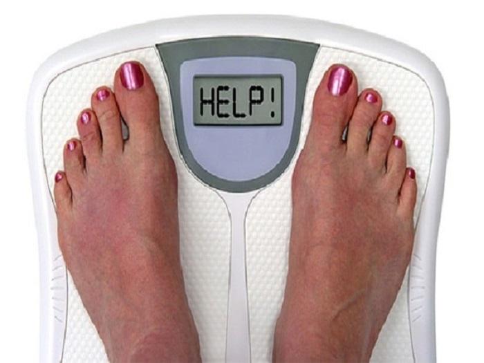 giảm cân đột ngột