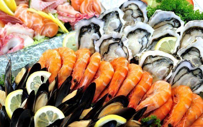 hải sản không tốt cho người ung thư phổi