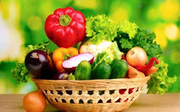 ung thư phổi nên ăn nhiều rau xanh