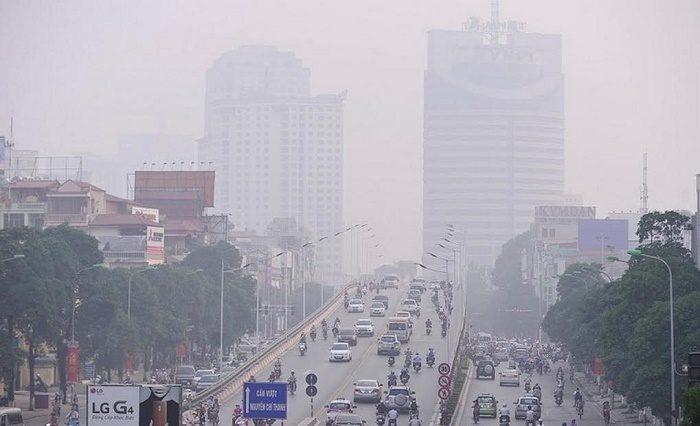 Ô nhiễm không khí gây ung thư phổi thế nào