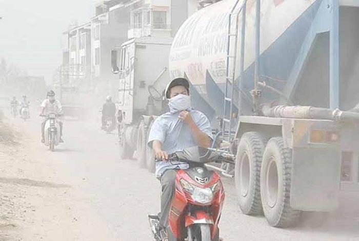 Ô nhiễm không khí gây ung thư phổi 1