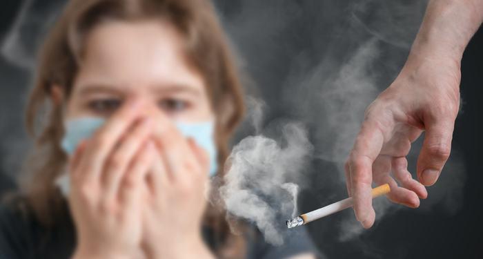 Người phụ nữ bị ung thư phổi