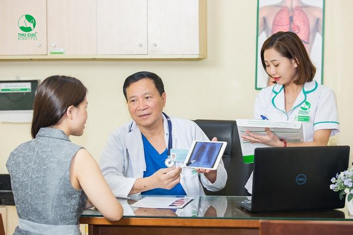 Chị em cần chủ động tầm soát ung thư định kỳ để phát hiện sớm bệnh (nếu có)