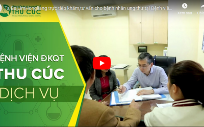 Ts. Bs Lim Hong Liang trực tiếp khám,tư vấn cho bệnh nhân ung thư tại Bệnh viện Thu Cúc