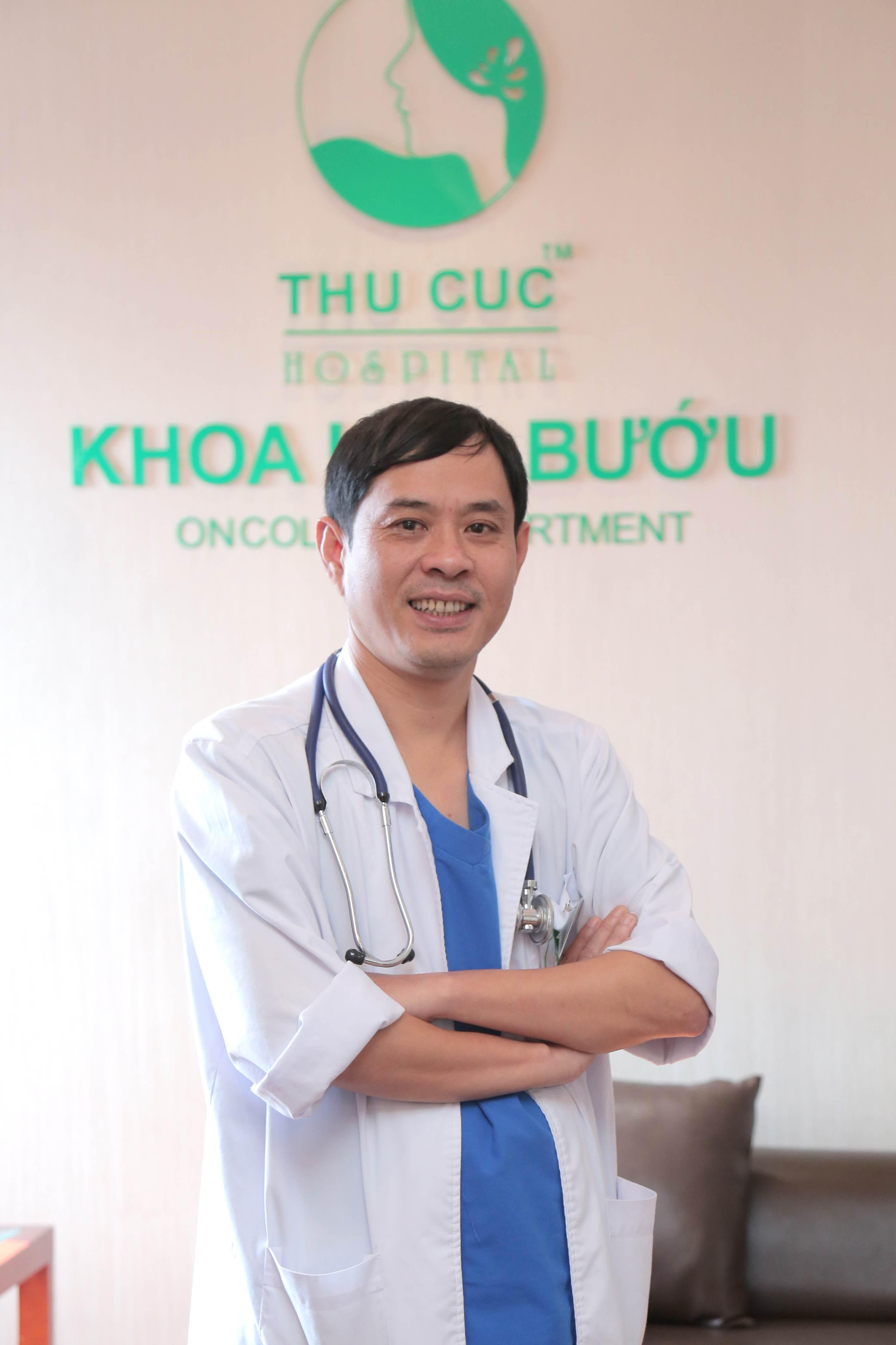 Bác sĩ Lê Văn Bảo – Trưởng khoa Ung bướu