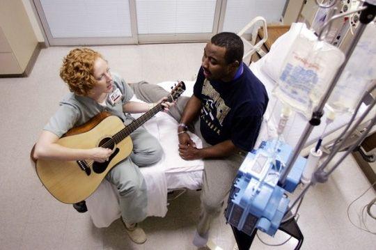 Âm nhạc rất tốt cho bệnh nhân ung thư.