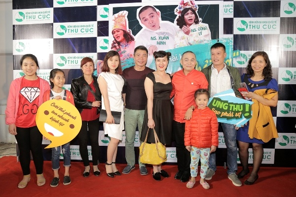 Nhiều nghệ sĩ Việt tham gia chiến dịch chống ung thư